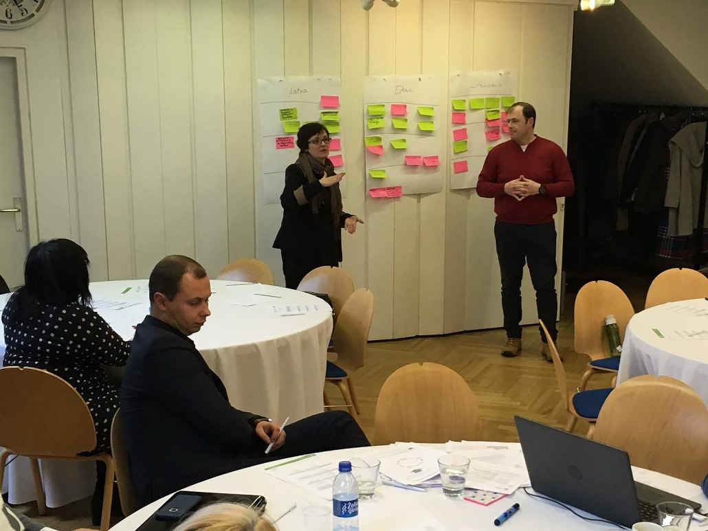 Baltic WBL Tutor Trainers' Workshop in Riga - TTT4WBL