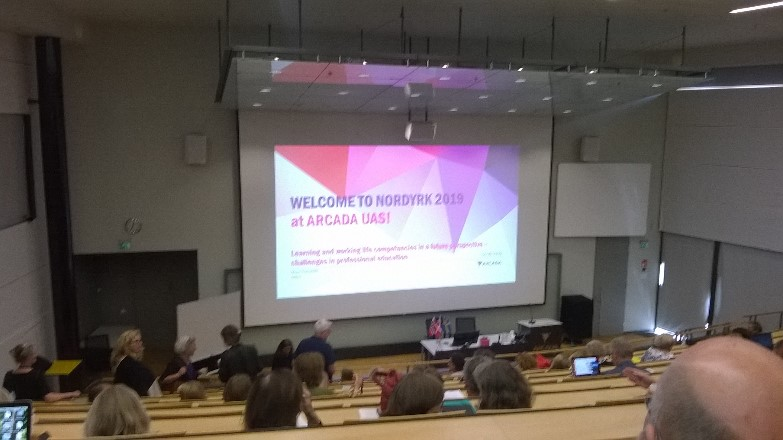 The project and research were presented at Nordic conference of